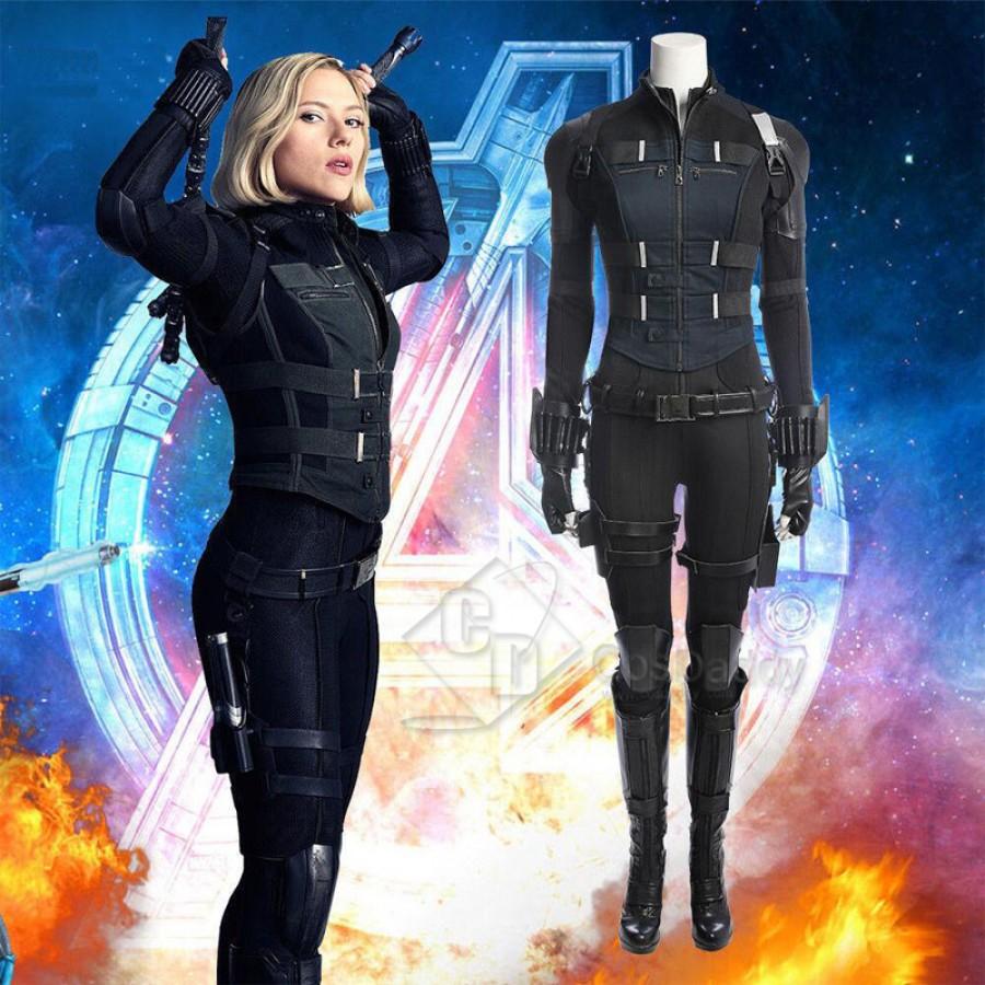 Cosdaddy Avengers Infinity War Black Widow Natasha Romanoff