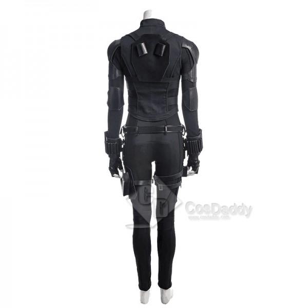 Cosdaddy Avengers: Infinity War Black Widow Natasha Romanoff Cosplay Costume