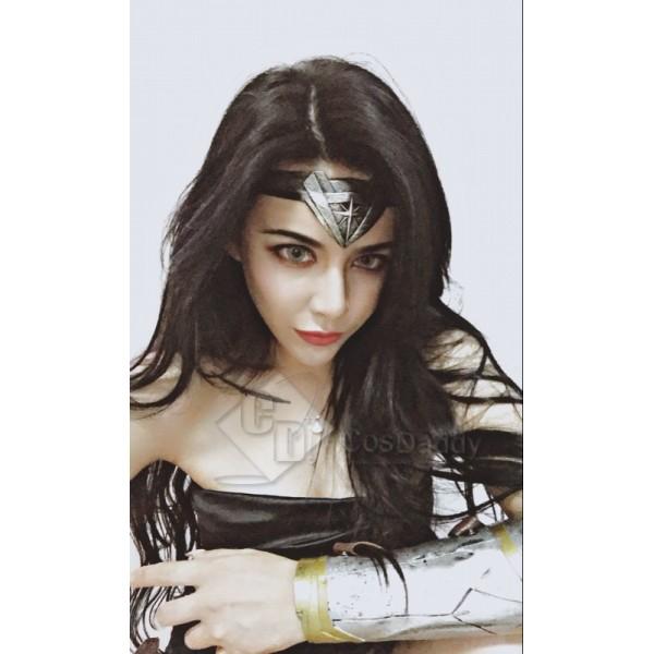 Wonder Woman Justice League Headwear Headgear Fiara Topknot Headband Adult