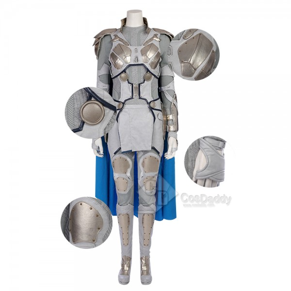 Cosdaddy Thor 3 Valkyrie Cosplay Costume Battle Uniform for Women