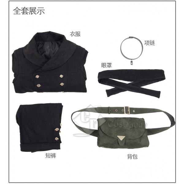 Cosdaddy NieR: Automata 2B Cosplay Black Costume