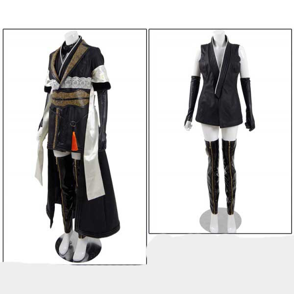 Cosdaddy Final Fantasy FF 15 Gentiana Cosplay Blac...