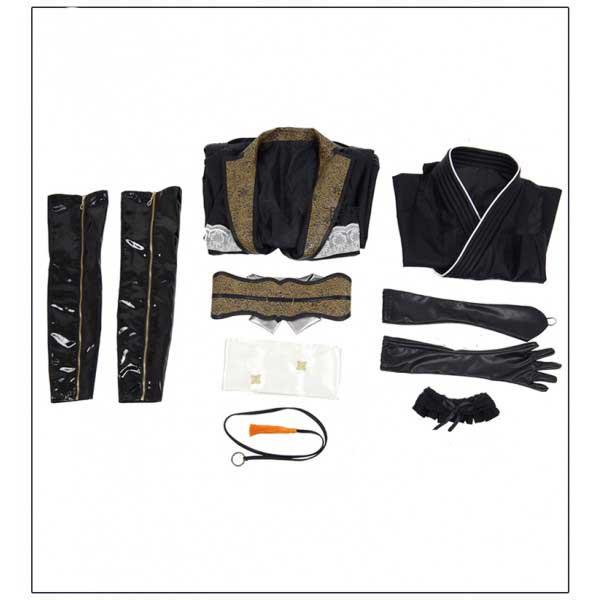Cosdaddy Final Fantasy FF 15 Gentiana Cosplay Black Costume