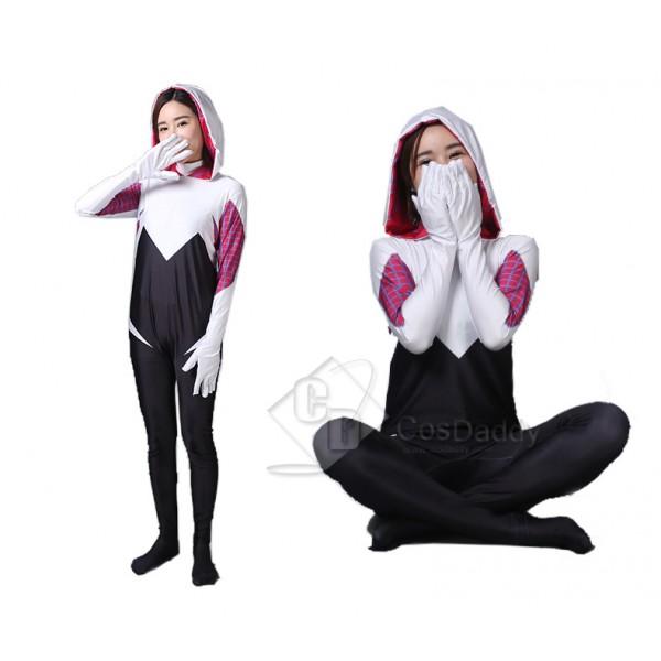 Spider-Gwen Spider Women  Halloween Show Cosplay Costume