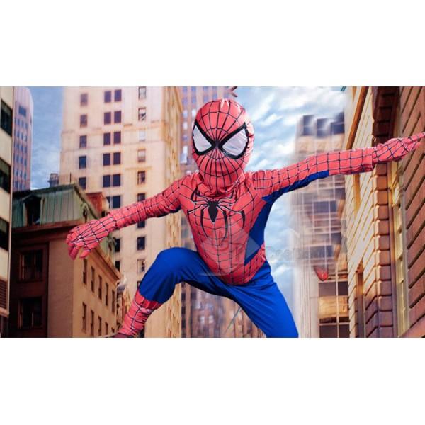 Spiderman Child Size Halloween Cosplay Costume