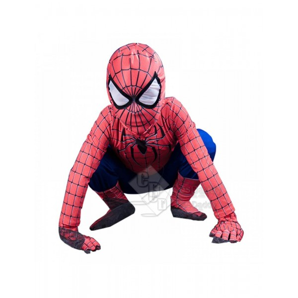 Spiderman Child Size Halloween Cosplay Costume