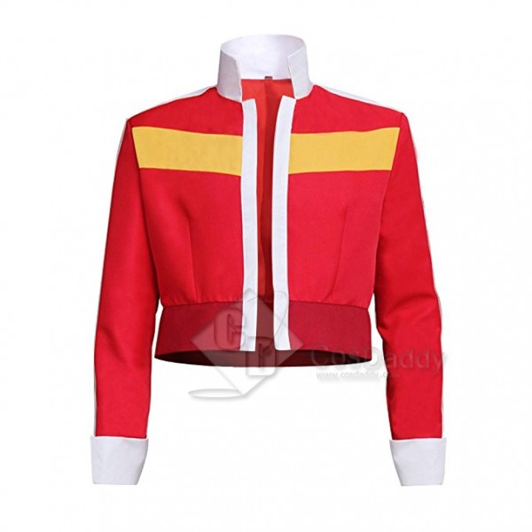 Voltron: Legendary Defender Keith Red Jacket Cosplay Costume