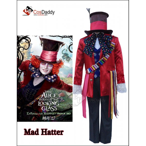 Alice in Wonderland 2 Mad Hatter Full Set Cosplay ...