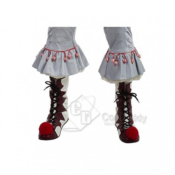 Stephen  King IT  Pennywise  Boots Cosplay Shoes 2...