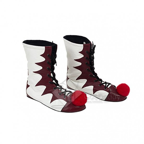 Stephen  King IT  Pennywise  Boots Cosplay Shoes 2017