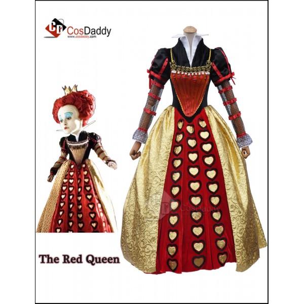 Alice  in Wonderland 2 The Red Queen Iracebeth Cos...