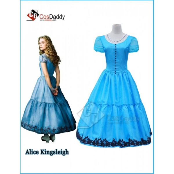 Alice in Wonderland 2  Alice Blue Dress Costume