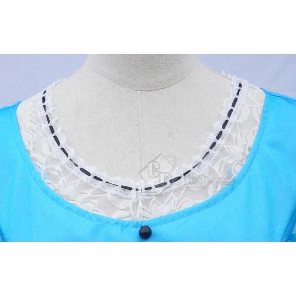 Alice in Wonderland 2  Alice Blue Dress Costume