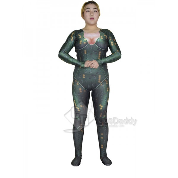 Cosdaddy Justice League Aquaman Orin / Arthur Curry's Wife Mera Cosplay Costume Jumpsuit