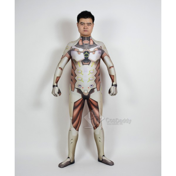 Cosdaddy Overwatch Genji Cosplay Costume Jumpsuit
