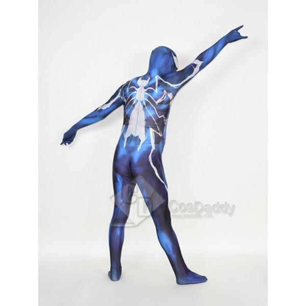 Cosdaddy Spider-Man Poison Symbiote Spider Man Cosplay Costume Jumpsuit