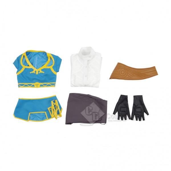 The Legend of Zelda: Breath of the Wild Princess Zelda Dress Cosplay Costume