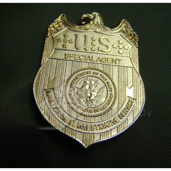 NCIS Badge Full Size Metal Special Agent Badge