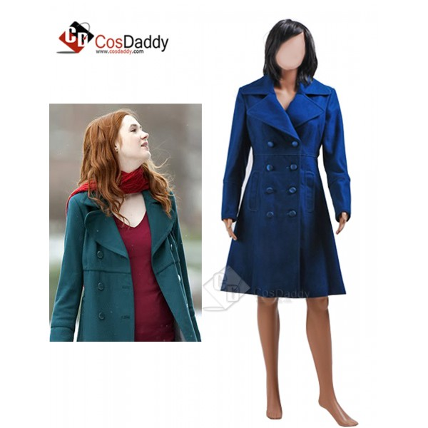 Doctor Who Eleventh 11th Doctor  Amy Pond Teal Wo...