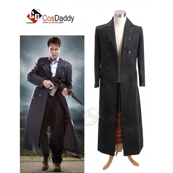 Doctor Who 11th Eleventh Doctor Long Black Trench ...
