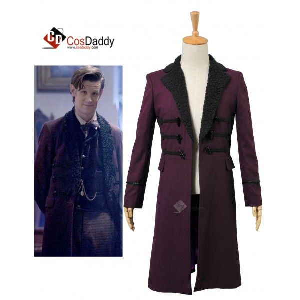 Doctor Who Eleventh 11th Doctor Horn Button Purple...