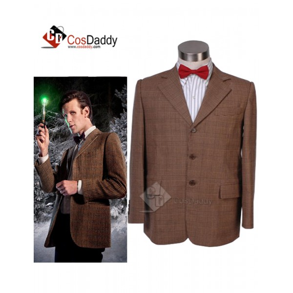 Doctor Who 11th Eleventh Doctor Jacket Suit Cospla...
