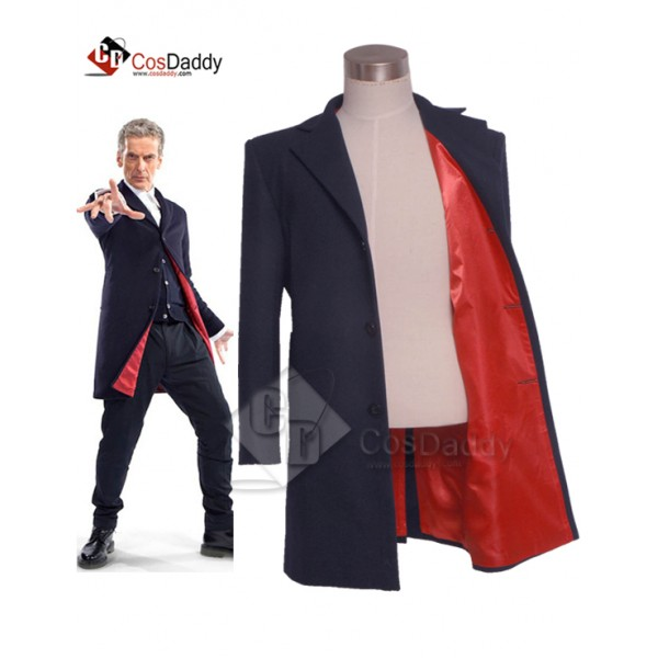 Doctor Who Twelfth 12th Coat Cosplay Costume(Only Coat)