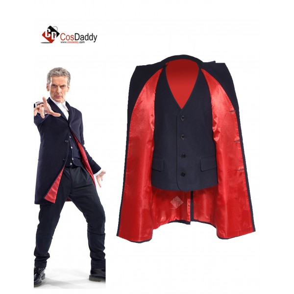 Doctor Who Twelfth 12th Dr. Coat Vest Cosplay Costume