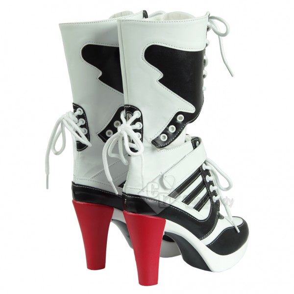 Suicide Squad Harley Quinn Cosplay Shoes / Cosplay Boots