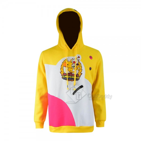 Final Fantasy Moogle Chocobo Pullover Hoodie Sweat...