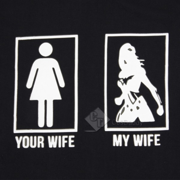 Wonder Woman Diana Princess Black T-shirt