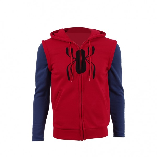 Spider-Man:Homecoming Hoodie Halloween Cosplay Cos...
