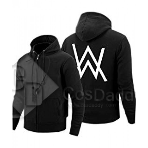 Faded Same Style Hoodies Brushed Thicken Alan Walker Scratch Ourwear