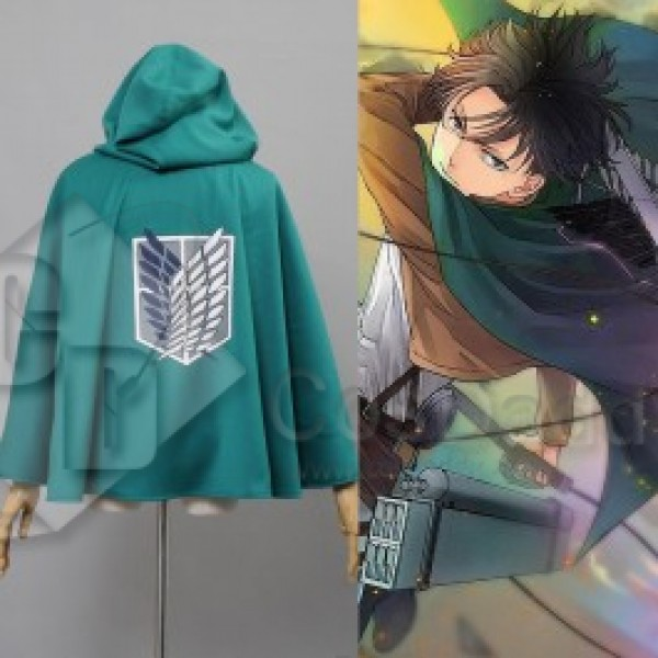 Attack on Titan Shingeki no Kyojin Scouting Legion Cloak Cosplay Costume