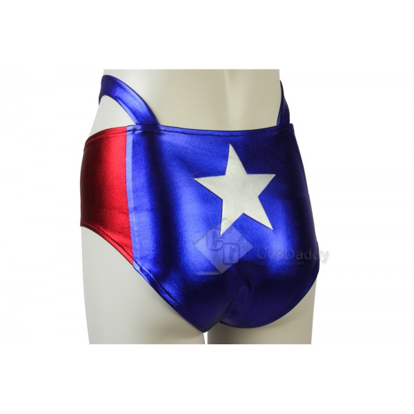 Captain America Girl's Sexy Dressing Cosplay Costume