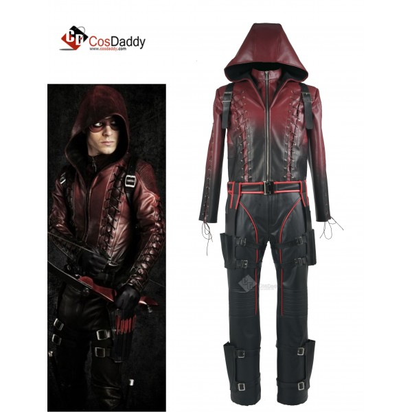Arrow Season 3 Red Arrow Roy Harper Arsenal Red Co...