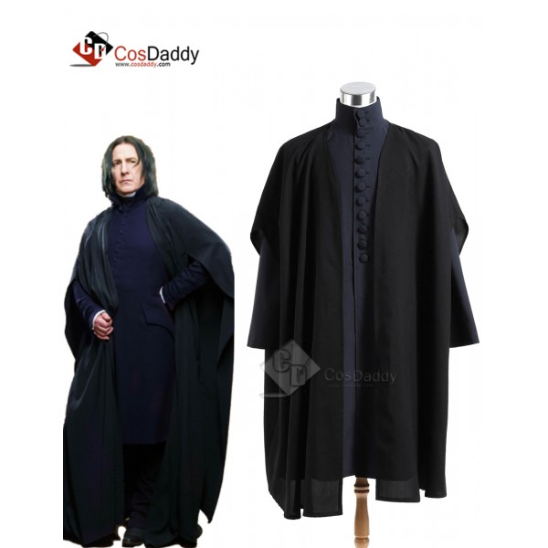 Harry Potter Deathly Hallows Severus Snape Coat Co...