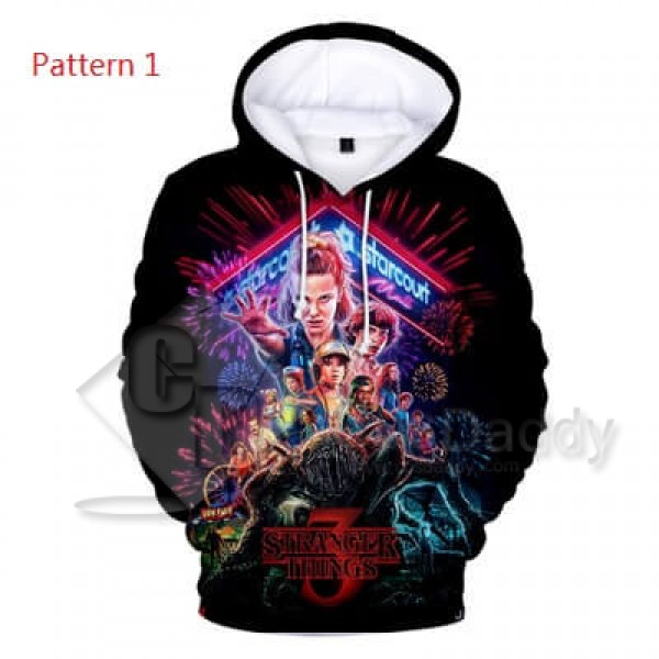 Stranger Things Hoodie Sweatshirts 3D Printed Jack...