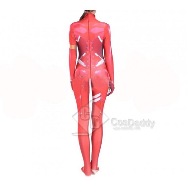 Darling in the FRANXX Zero Two Battle Suit Lycra Bodysuit Anime Zentai Suit Cosplay Costume