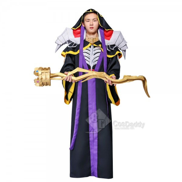 Cosdaddy Overlord Ainz Ooal Gown Cosplay Black Costume