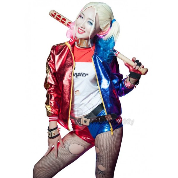 Suicide Squad Movie Costume Harley Quinn  Jacket S...