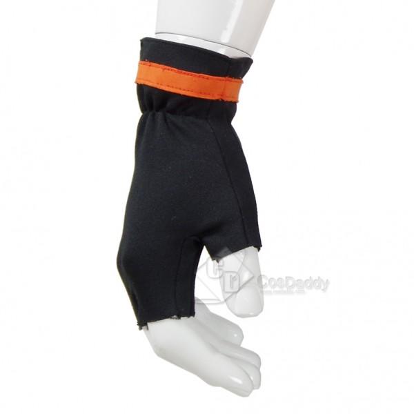 CosDaddy Pokemon Go Pocket Monster Trainer Costume Pokemon Go Team Suit Halloween Cosplay Men Orange Hoodie Pans Gloves