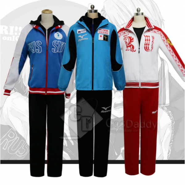 CosDaddy YURI!!! on ICE Cosplay Athletic Wear Cost...