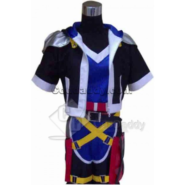 Kingdom Hearts Sora Cosplay Costume Version 2