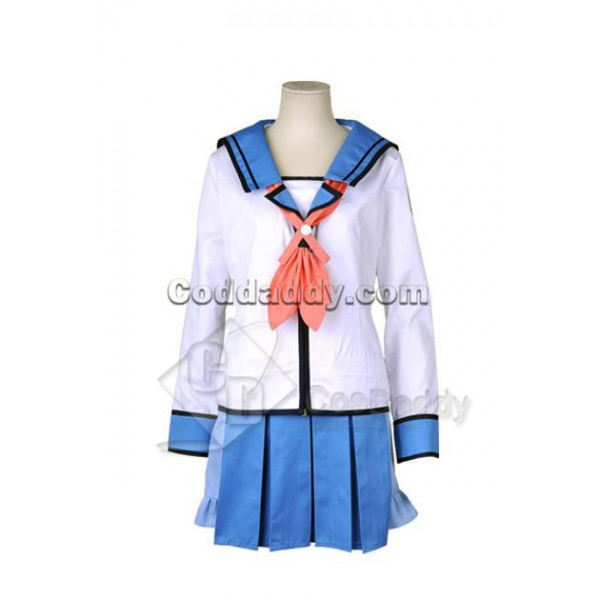 Angel Beats! Shiina Cosplay Costume
