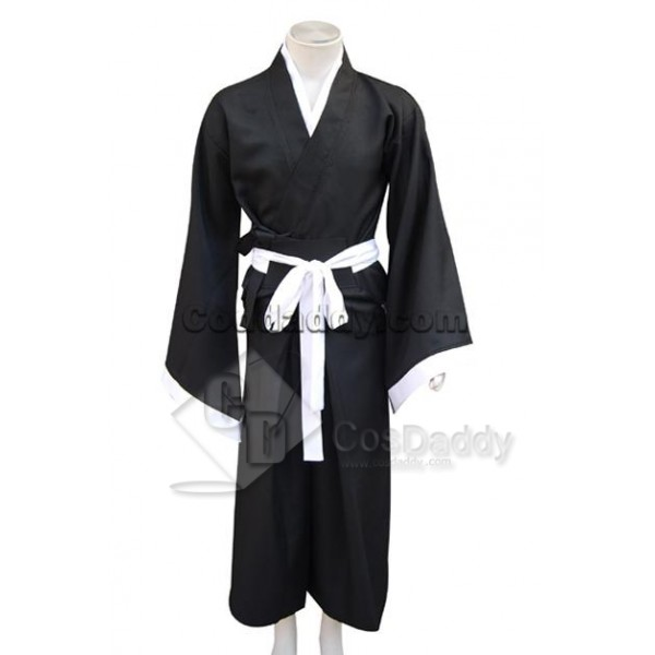 Bleach Death God (Shinigami) Kimono Cosplay Costum...