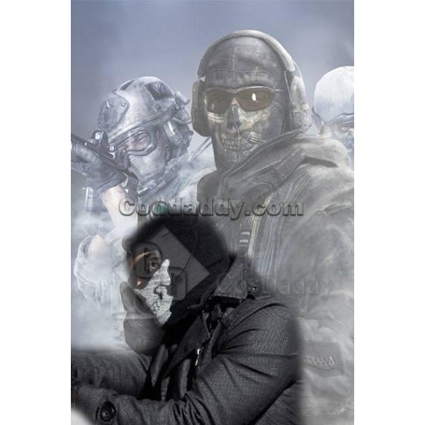 Call Of Duty Modern Warfare 2 Ghost Skull Face Mas...
