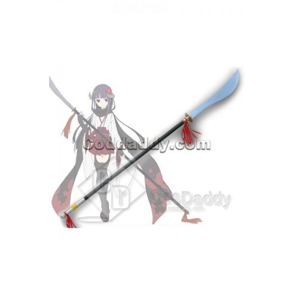 Inu x Boku SS Shirakiin Ririchiyo Big Sword Cospla...