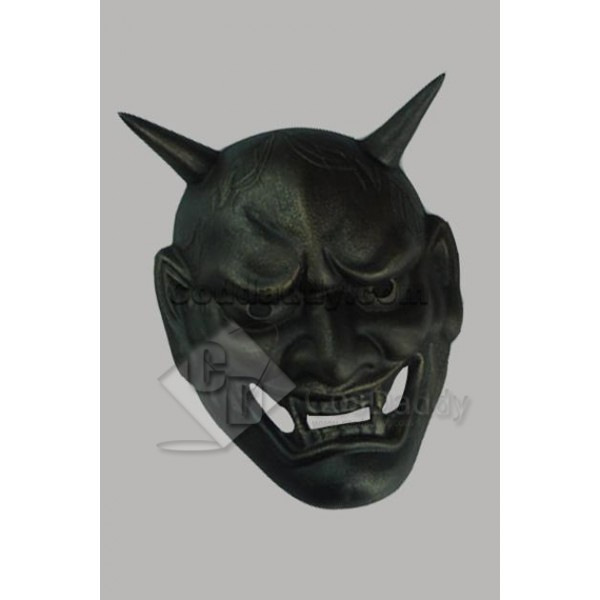 Japanese Traditional Hannya Mask Hanya Black Versi...