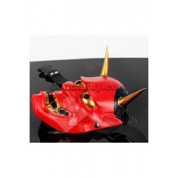 Japanese Traditional Hannya Mask Hanya (Red Version)